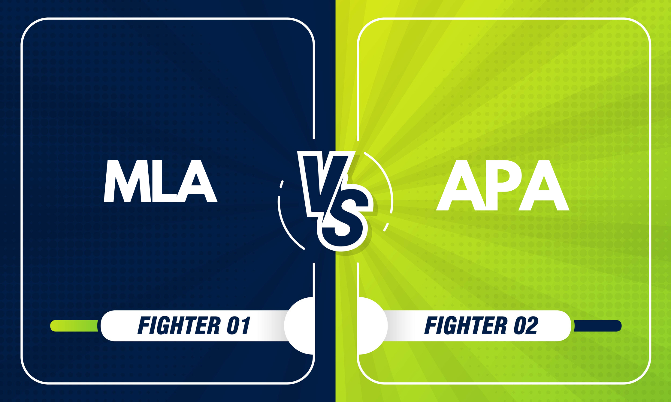 difference between mla and apa